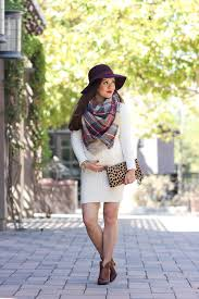 6 ways to wear a blanket scarf vince camuto franell western