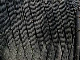 black bamboo fence panels u2013 outdoor decorations