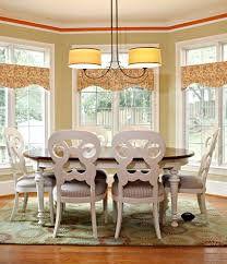 valences dining room traditional with country breakfast table