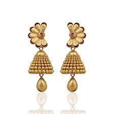 bridal jhumka earrings nac product detail gold jhumka bridal earrings international dot