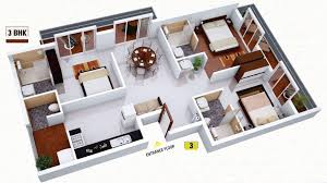 Outstanding 3 Bhk Single Floor House Plan Ideas house