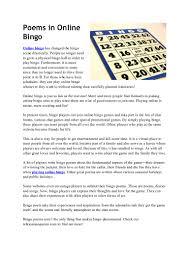 poemsinonlinebingo 110629220008 phpapp01 thumbnail 4 jpg cb u003d1309385094