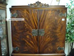 antique hutch with glass doors furniture appealing antique liquor cabinet with wooden source for