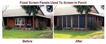 Patio Enclosures Com Patio Enclosures Mobile Screens Etc Inc Residential