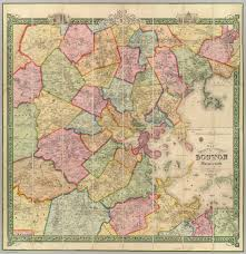 Map Of Boston And Surrounding Towns by All Things Medfield Ma