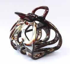 claw hair octopus handmade claw hair clip medium tortoise premium