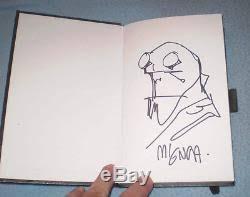 20 original comic convention sketches in book mignola pope