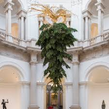 in london contemporary christmas tree art installations decor