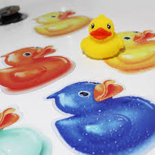 Anti Slip Stickers For Bathtub Non Slip Rubber Ducky Shower Stickers Colorful Duck Safety
