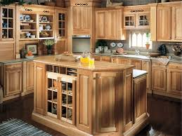 Rustic Hickory Kitchen Cabinets Hickory Cabinets