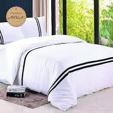 Cheap Black Duvet Covers Online Get Cheap Black White Coverlets Aliexpress Com Alibaba Group