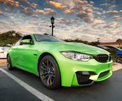 green bmw m4 bmw m4 wrapped take at carlsbad cars and coffee in north s u2026 flickr