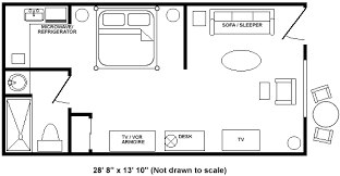 in suite floor plans floor plan one bedroom suite picture of la residence awesome design