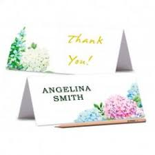 tent cards printed place cards floral wedding place card peony