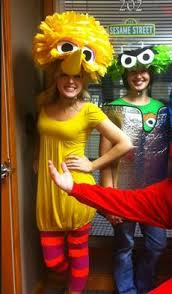 Big Bird Halloween Costumes 7 Cheerleader Diy Halloween Costume Tutorial