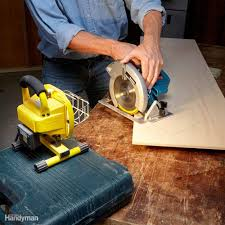 Cutting Laminate Flooring With Circular Saw How To Use A Circular Saw Family Handyman