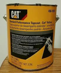 genuine oem cat yellow one 1 gallon caterpillar paint 458 9576