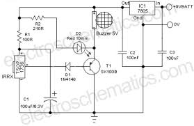 remote controlled alarm circuit