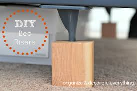 bed risers ikea diy bed risers organize and decorate everything