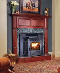 wood pellet fireplace insert binhminh decoration