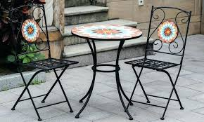 Dunelm Bistro Table Mosaic Bistro Sets Outdoor Mosaic Bistro Set Mosaic Bistro Set