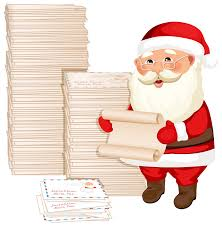 santa claus letters santa claus with letters png clipart image gallery yopriceville