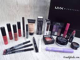 Make Up Nyx nyx cosmetics haul emilyloula