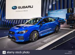 subaru wrx interior 2018 2018 subaru wrx sti car at the north american international auto