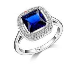 silver coloured rings images Womens plain cubic zirconia dress rings jpg