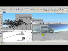 tutorial sketchup autocad v ray for sketchup how to use hdri and sun settings tutorial v