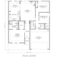 house floor plans 4 bedroom 3 bath width 42 u0027 4 1 2 4 bedroom 2