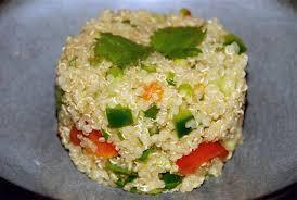 cuisiner le quinoa recette du taboulé de quinoa et salade de lentille