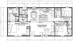 Floor Plans For Mobile Homes Double Wide Cypress Mobile Home Floor Plan Factory Expo Home Centers