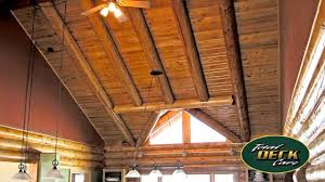 Log Home Interior Photos Interior Log Home Restoration Pittsburg Randolph Stratford Coos