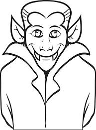 free coloring pages count dracula coloring