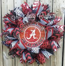 best 25 alabama wreaths ideas on alabama door wreaths