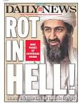 New York Daily News Osama Bin Laden Front Page: 'Rot In Hell' (