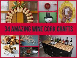 34 amazing wine cork crafts top diy ideas