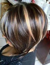 high and low highlights on short hair 30 highlighted hair for brunettes highlighted hair brunettes