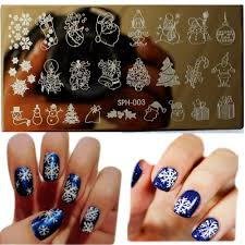 1pcs amazing diy halloween nail art ideas nail art stamp template