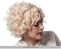 short permanent curl hairstyles short spiral perm hairstyles pictures hair