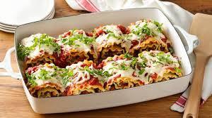 make ahead cheesy turkey spinach lasagna roll ups recipe