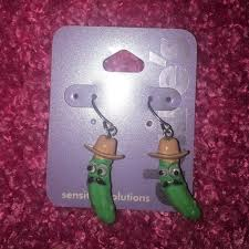 claires earrings 17 accessories s pickle earrings from b s closet on