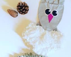 Snowy Owl Halloween Costume Baby Owl Costume Etsy