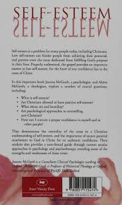 self esteem the cross and christian confidence joanna mcgrath