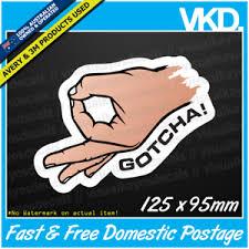 Gotcha Meme - the circle game sticker decal funny gotcha got ya ok sign emoji