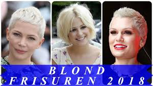 Aktuelle Kurzhaarfrisuren Blond by Coole Kurzhaarfrisuren Blond 2018