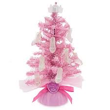 tabletop tree disney princess pink