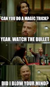Magic Trick Meme - skinhead john travolta meme imgflip