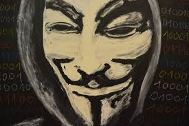 Guy Fawkes Mask Halloween by Saatchi Art Guy Fawkes Mask Anonymous Hacker They Dont Forgive